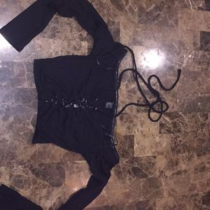 Forever 21 Tops - Black Long Sleeve